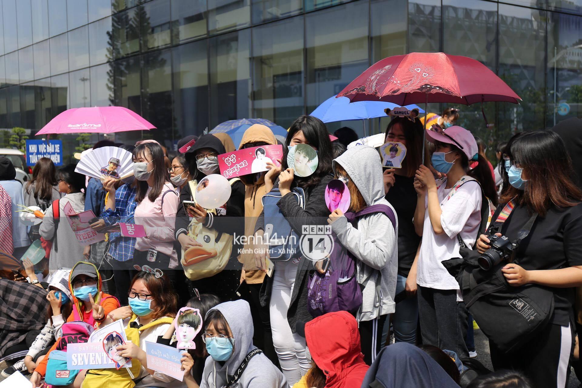 Hoàng tử lai Samuel điển trai, cùng Seventeen ngoái lại chào fan Việt bằng được tại sân bay Tân Sơn Nhất - Ảnh 21.