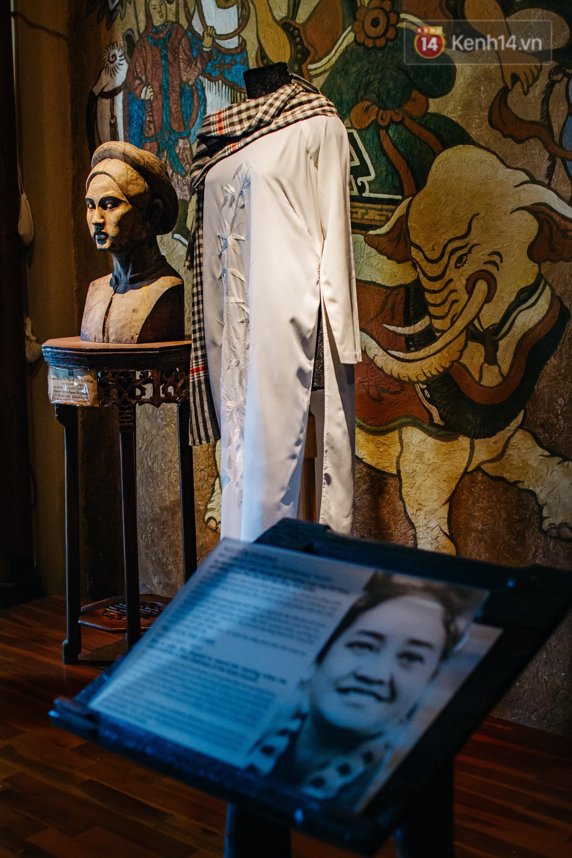 Ở Sài Gòn có một bảo tàng đẹp như tranh chỉ dành riêng để tôn vinh áo dài - Ảnh 8.
