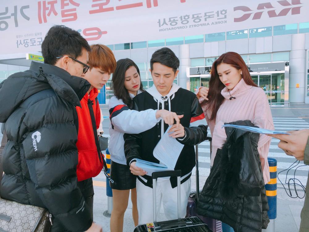 Đông Nhi, Ông Cao Thắng cùng học trò sang Hàn ghi hình dự án mới cùng công ty quản lý của MAMAMOO - Ảnh 7.