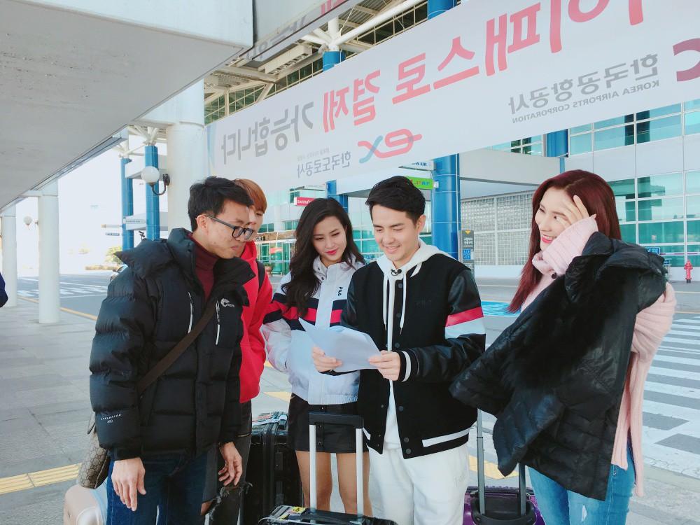 Đông Nhi, Ông Cao Thắng cùng học trò sang Hàn ghi hình dự án mới cùng công ty quản lý của MAMAMOO - Ảnh 6.