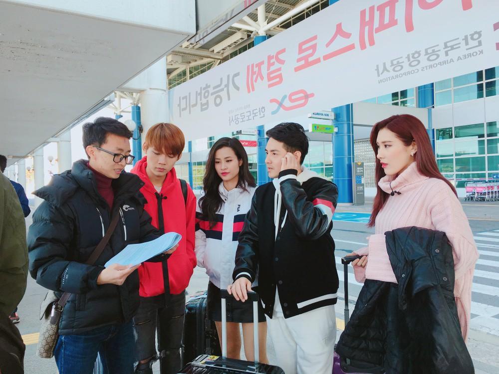 Đông Nhi, Ông Cao Thắng cùng học trò sang Hàn ghi hình dự án mới cùng công ty quản lý của MAMAMOO - Ảnh 5.