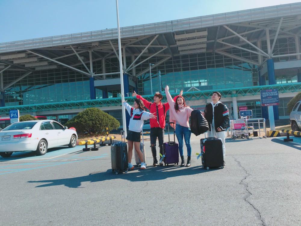 Đông Nhi, Ông Cao Thắng cùng học trò sang Hàn ghi hình dự án mới cùng công ty quản lý của MAMAMOO - Ảnh 4.