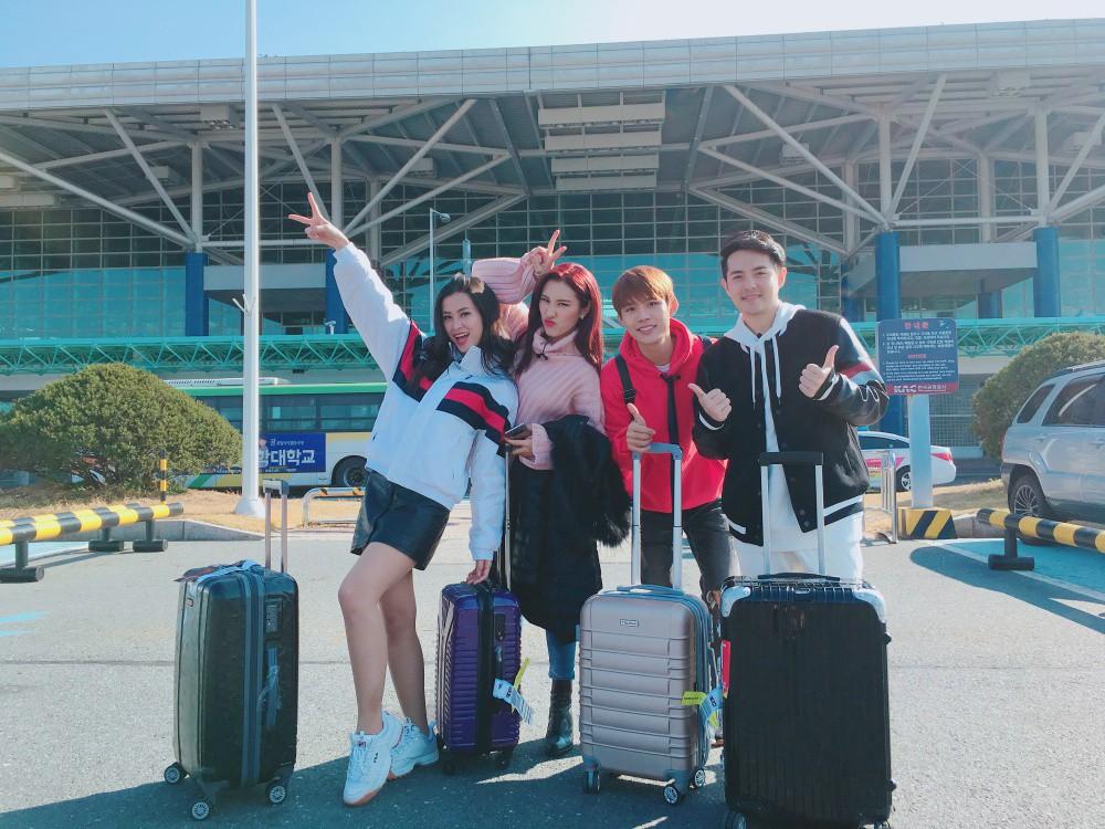 Đông Nhi, Ông Cao Thắng cùng học trò sang Hàn ghi hình dự án mới cùng công ty quản lý của MAMAMOO - Ảnh 3.