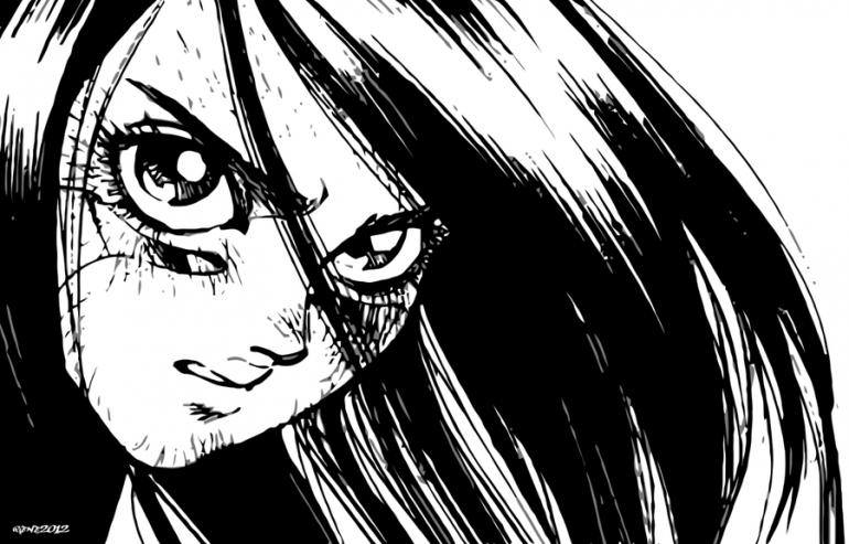 Đôi mắt ngoại cỡ của người máy trong Alita: Battle Angel làm người xem hoảng sợ! - Ảnh 2.