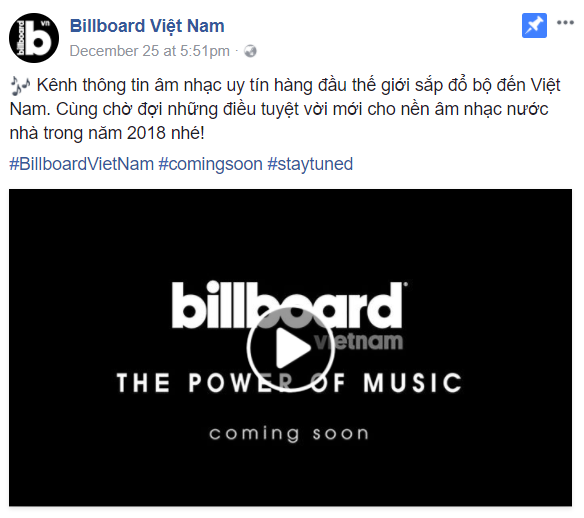 Cộng đồng mạng Việt xôn xao trước thông tin Billboard sẽ đổ bộ Việt Nam - Ảnh 2.