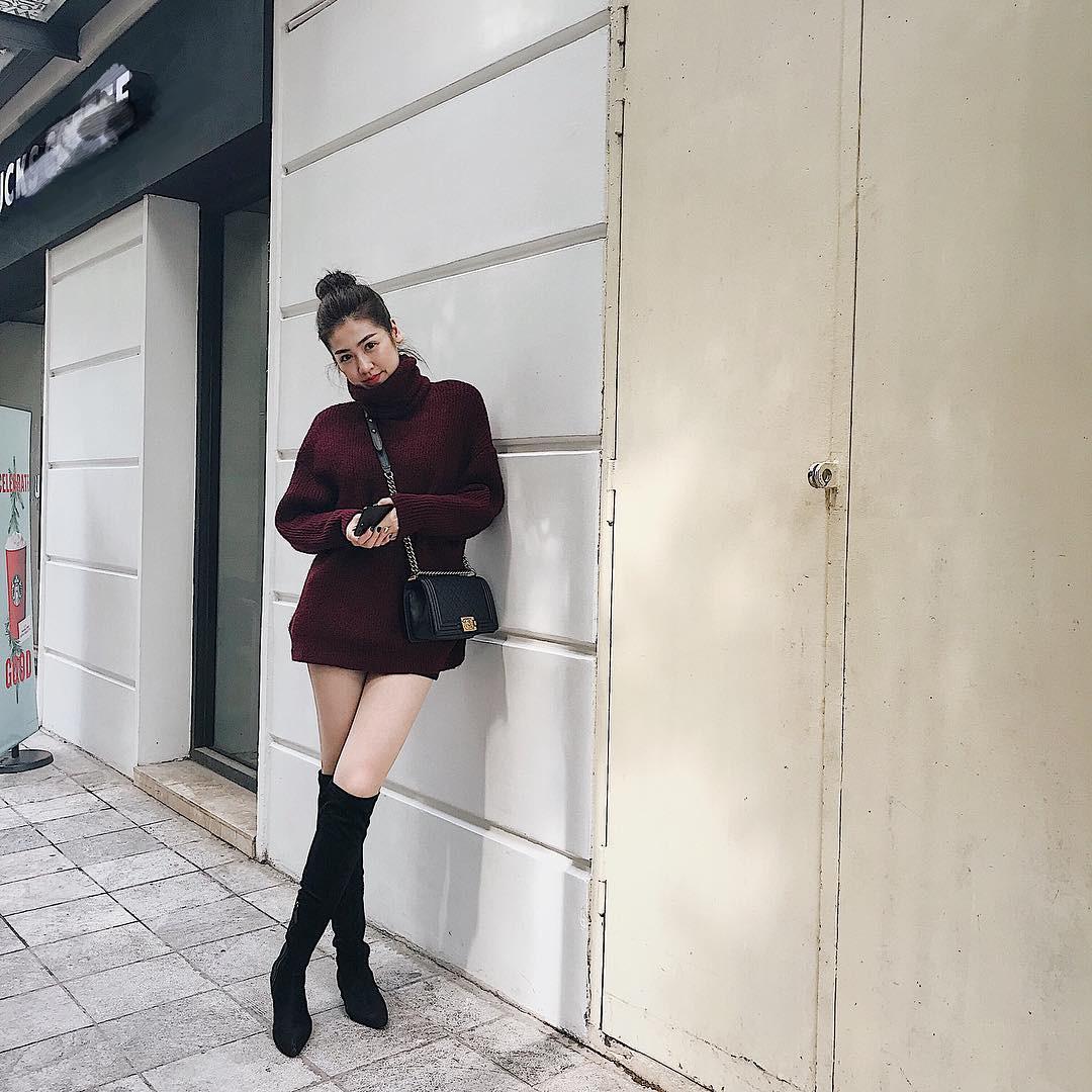 Năm nay boots cao cổ dáng ôm hot tưng bừng và Hà Hồ, Kỳ Duyên cùng rất nhiều sao, hot girl đã diện rồi này! - Ảnh 3.