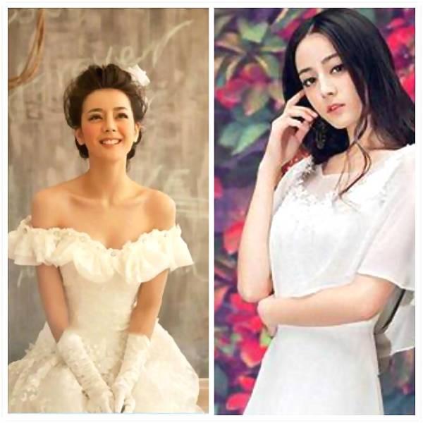 Angela Baby - Địch Lệ Nhiệt Ba cùng mặc váy cưới: Ai đẹp xuất sắc hơn ai? - Ảnh 12.