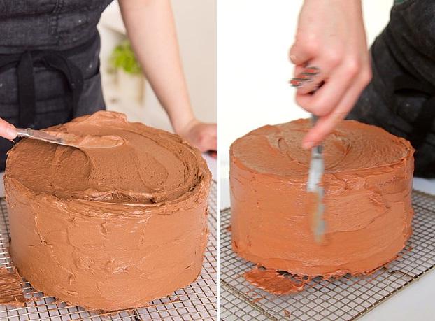 Cách làm một chiếc bánh sinh nhật chocolate hoàn chỉnh từ A đến Z - Ảnh 15.