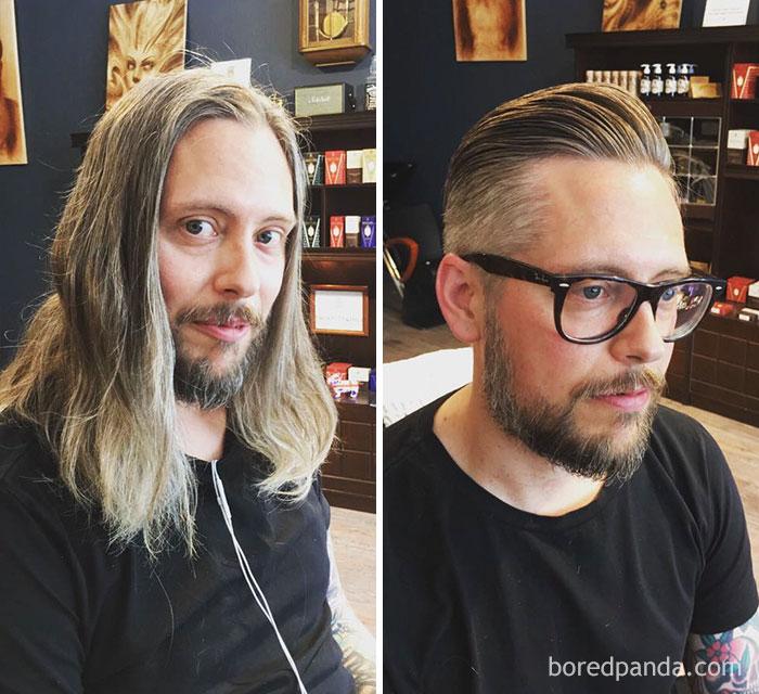 Thực tế chứng minh: Đàn ông vớ được thợ cắt tóc giỏi thì lột xác còn hơn cả phẫu thuật thẩm mỹ! - Ảnh 9.