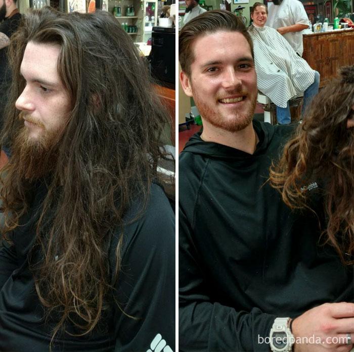 Thực tế chứng minh: Đàn ông vớ được thợ cắt tóc giỏi thì lột xác còn hơn cả phẫu thuật thẩm mỹ! - Ảnh 11.
