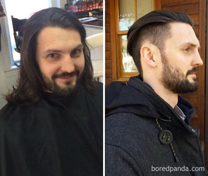 Thực tế chứng minh: Đàn ông vớ được thợ cắt tóc giỏi thì lột xác còn hơn cả phẫu thuật thẩm mỹ! - Ảnh 2.