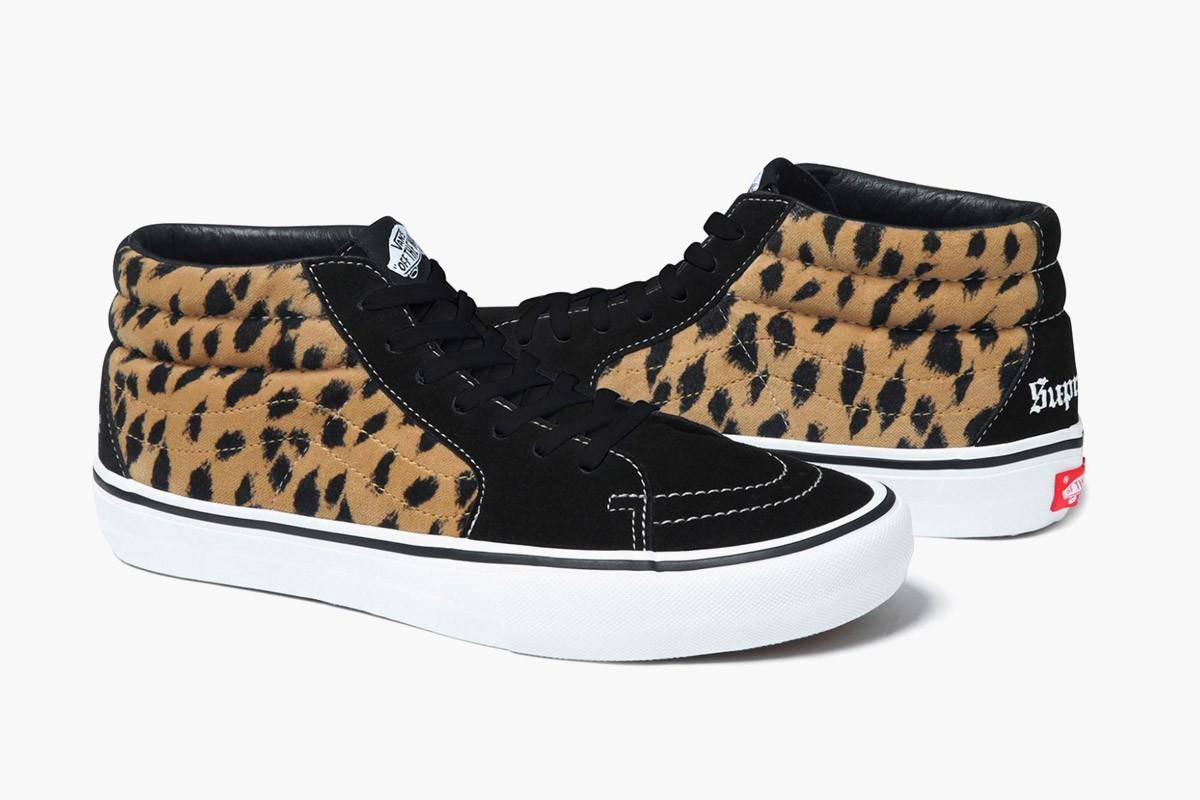 best sneakers 2017 vans supreme leopard 1200x800 1494299996263 - Điểm mặt 10 đôi sneaker đẹp nhất năm 2017