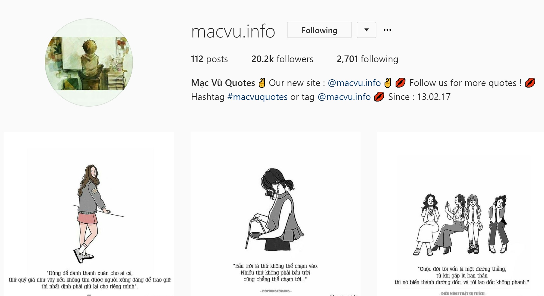 Instagram cực hay ho với loạt trích dẫn so deep dành riêng cho hội sống ảo