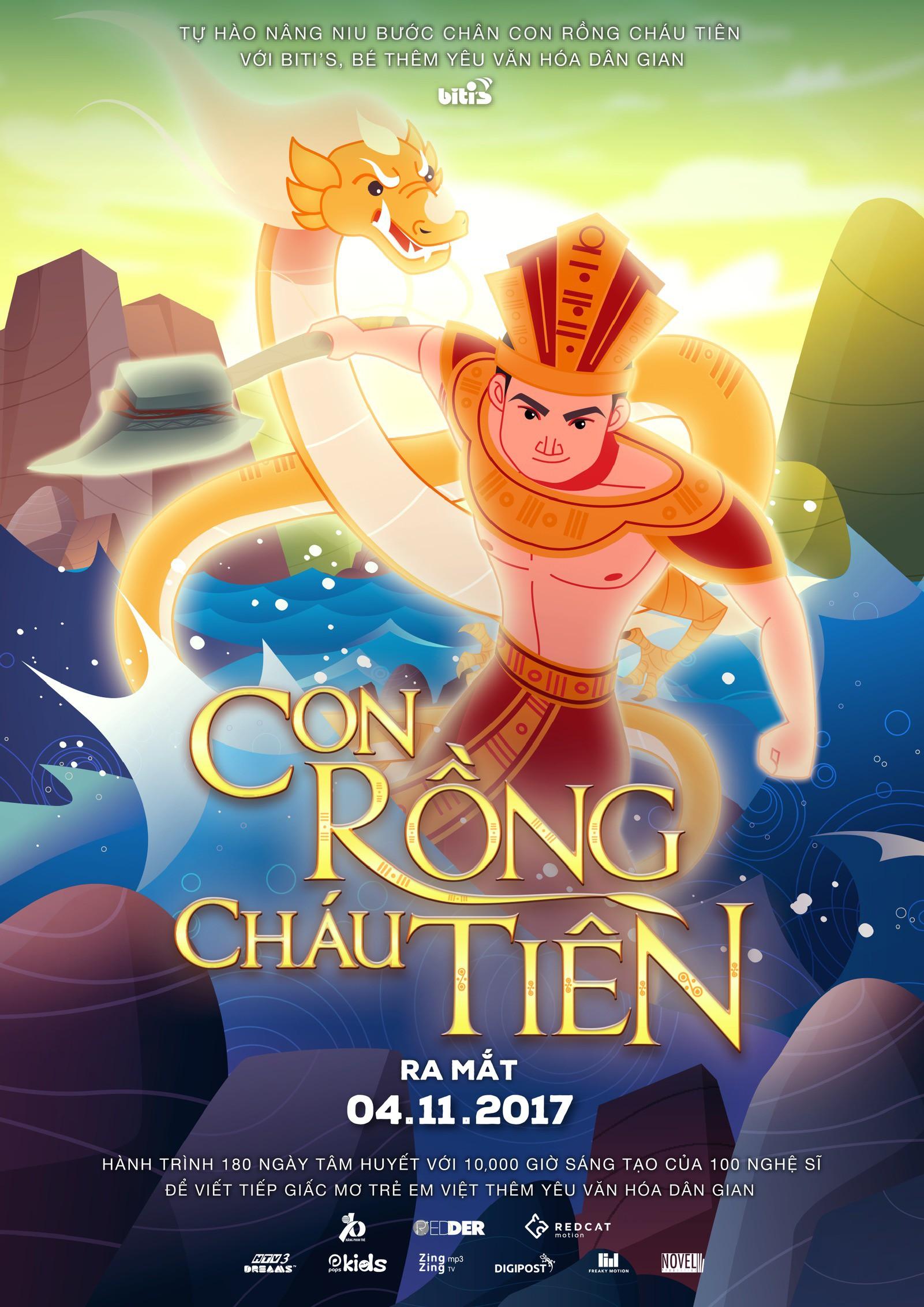 Giám đốc dự án phim hoạt hình Con Rồng Cháu Tiên: Đây chỉ là bước mở màn, chúng tôi còn nhiều dự án lớn hơn về văn hoá Việt Nam! - Ảnh 9.
