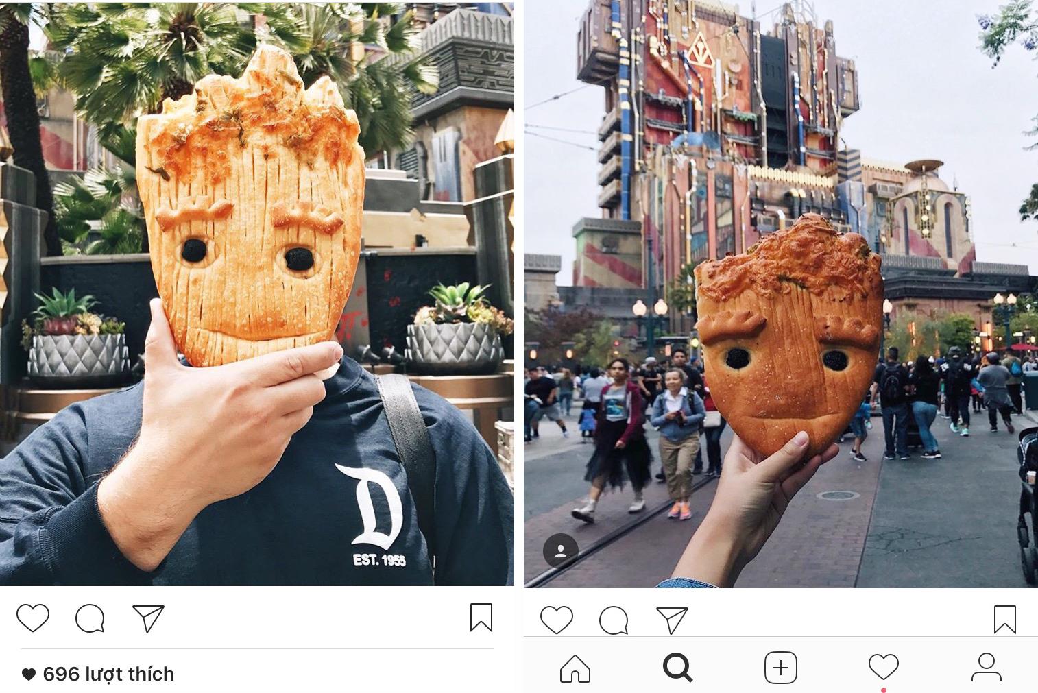Cận cảnh chiếc bánh mì Groot đang làm mưa làm gió khắp các mạng xã hội và các fan của siêu anh hùng này - Ảnh 4.