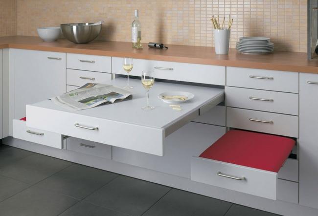12 cách bố trí thông minh cho những gian bếp chật hẹp - Ảnh 3.