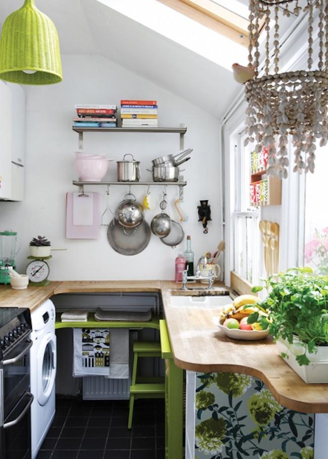 12 cách bố trí thông minh cho những gian bếp chật hẹp - Ảnh 7.