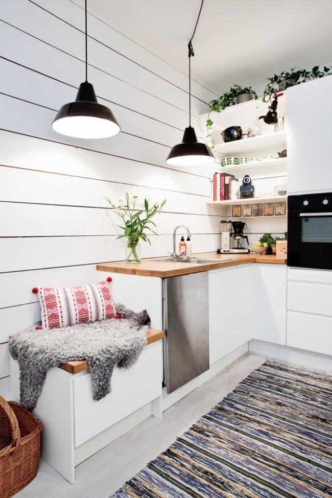 12 cách bố trí thông minh cho những gian bếp chật hẹp - Ảnh 13.