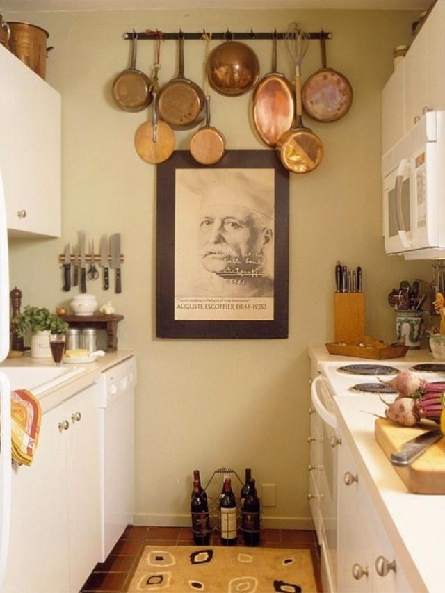 12 cách bố trí thông minh cho những gian bếp chật hẹp - Ảnh 15.