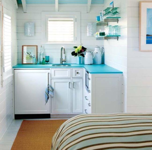 12 cách bố trí thông minh cho những gian bếp chật hẹp - Ảnh 17.