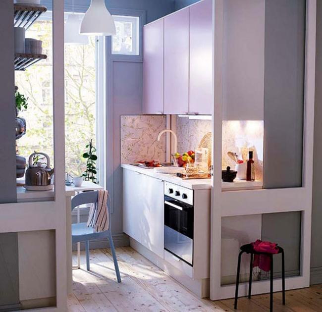 12 cách bố trí thông minh cho những gian bếp chật hẹp - Ảnh 23.