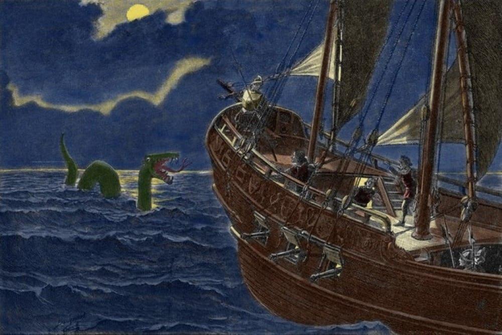 5 quái vật biển trong truyền thuyết gieo rắc cơn ác mộng cho toàn thế giới - Ảnh 3.