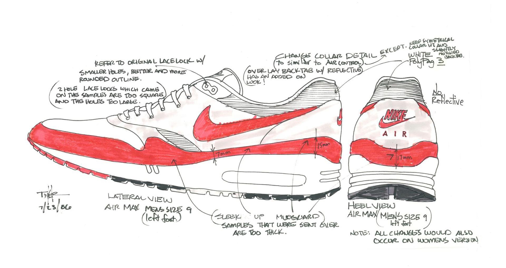 Nike Air Max 1 OG trở lại với hình bóng huyền thoại nhân dịp sinh nhật 30 năm - Ảnh 5.