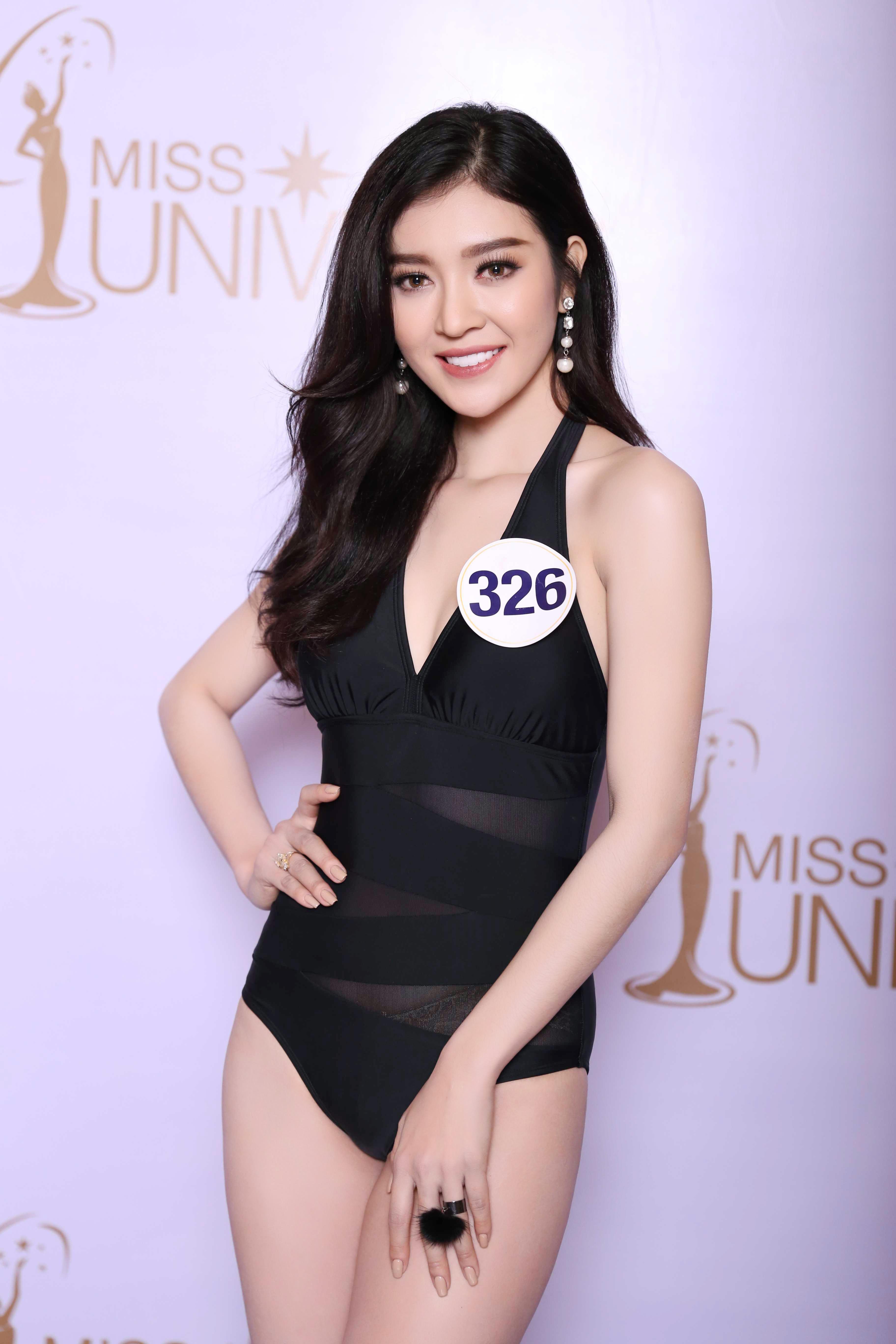 Cận cảnh hình ảnh bikini của Hoàng Thùy, Mâu Thủy, Mai Ngô... tại Hoa hậu Hoàn vũ, ai nuột nhất? - Ảnh 10.