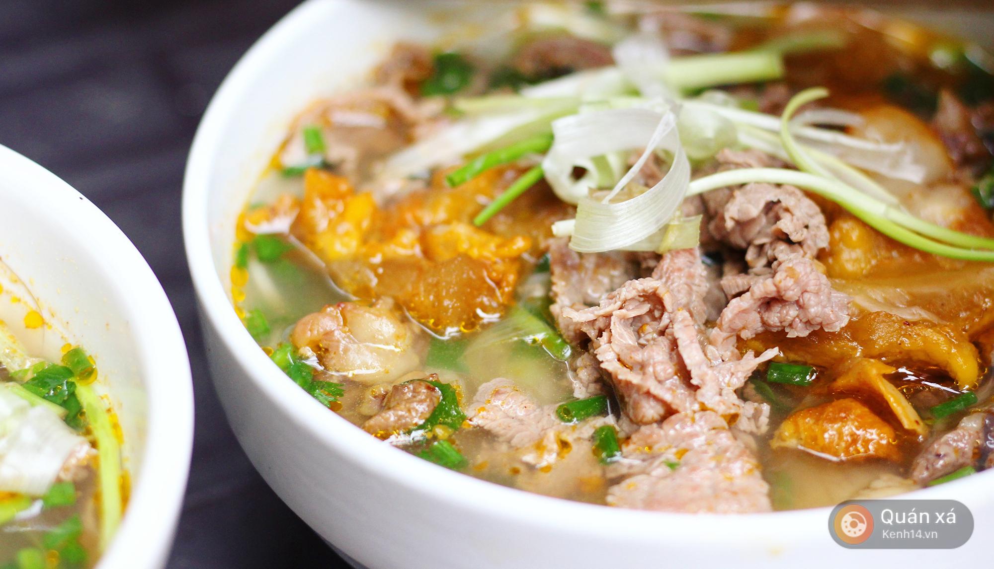 Ở Hà Nội có một món bún rất lạ: đầy ắp thịt bò mà chỉ có 25k - Ảnh 3.