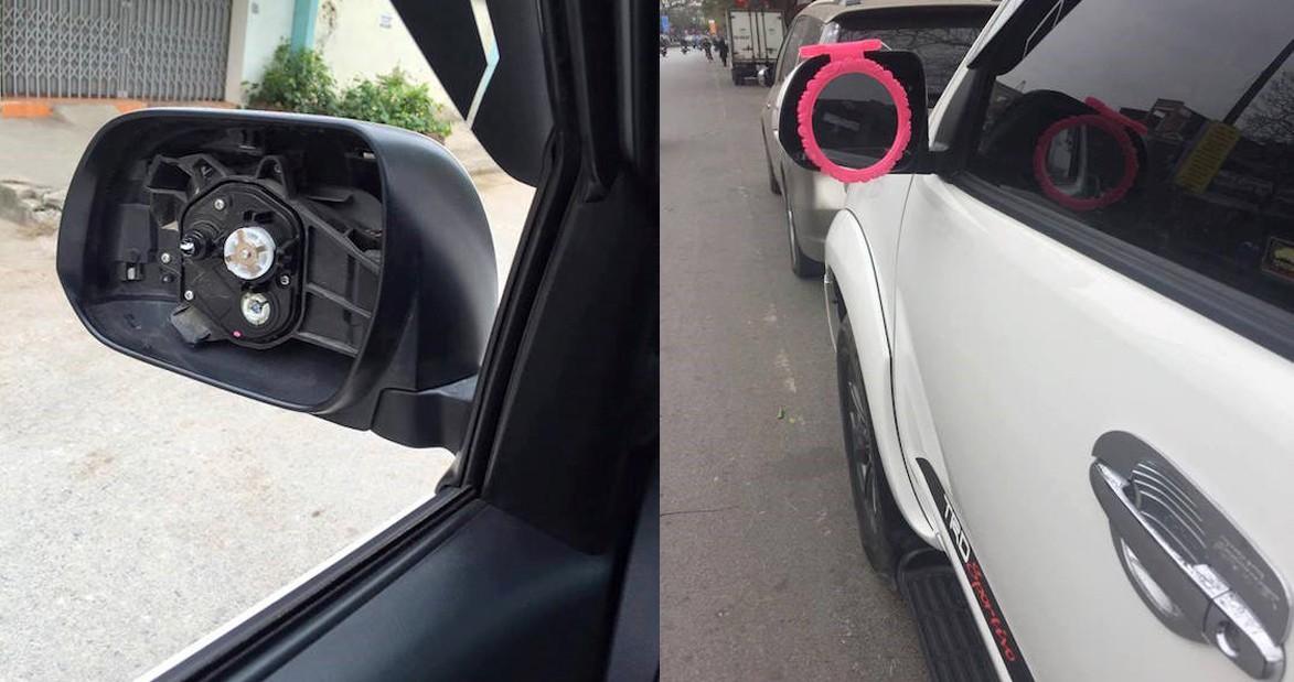 Năm hết tết đến, xe hơi độ gương xuất hiện đầy đường vì gương xịn đã bị bẻ trộm - Ảnh 5.