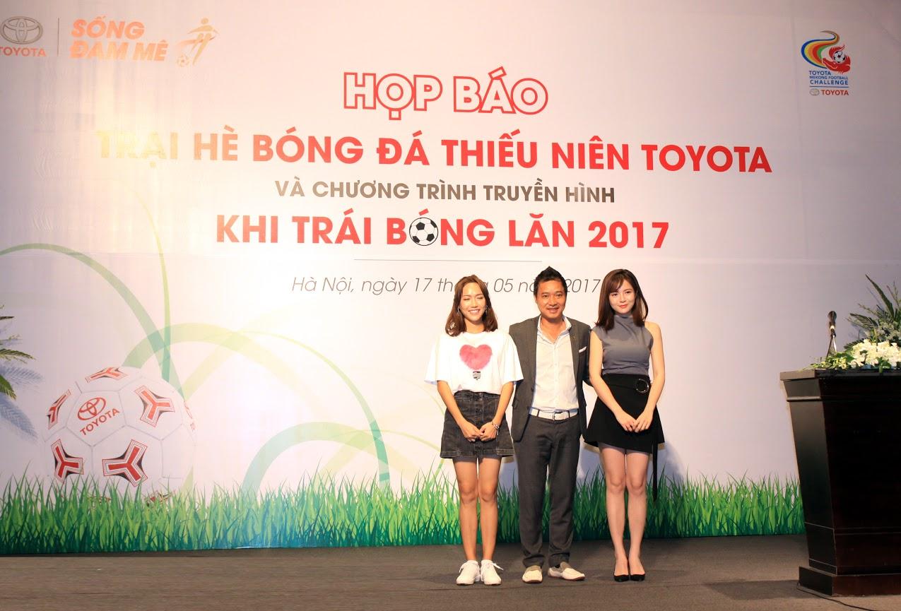 Tú Linh MU, Diệu Nhi sát cánh cùng cựu danh thủ Hồng Sơn trong Trại hè bóng đá - Ảnh 2.