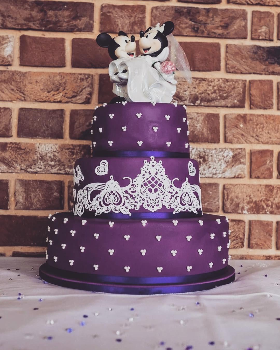 15 mẫu bánh cưới cảm hứng từ phim hoạt hình Disney - Ảnh 25.
