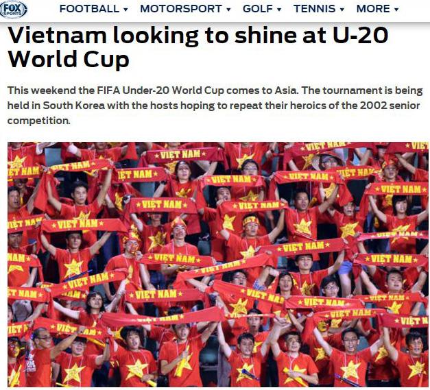 Báo quốc tế: Việt Nam sẽ tỏa sáng tại U20 World Cup - Ảnh 1.