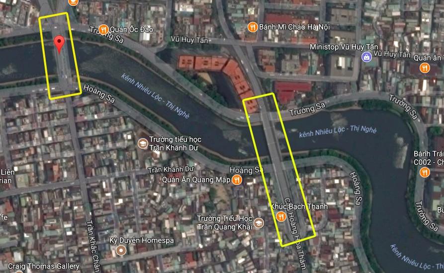 Nghịch lý kỳ lạ ở Sài Gòn: 2 cây cầu song song, người dân chen chúc đến kẹt xe trên cây cầu sắt cũ và hẹp - Ảnh 5.
