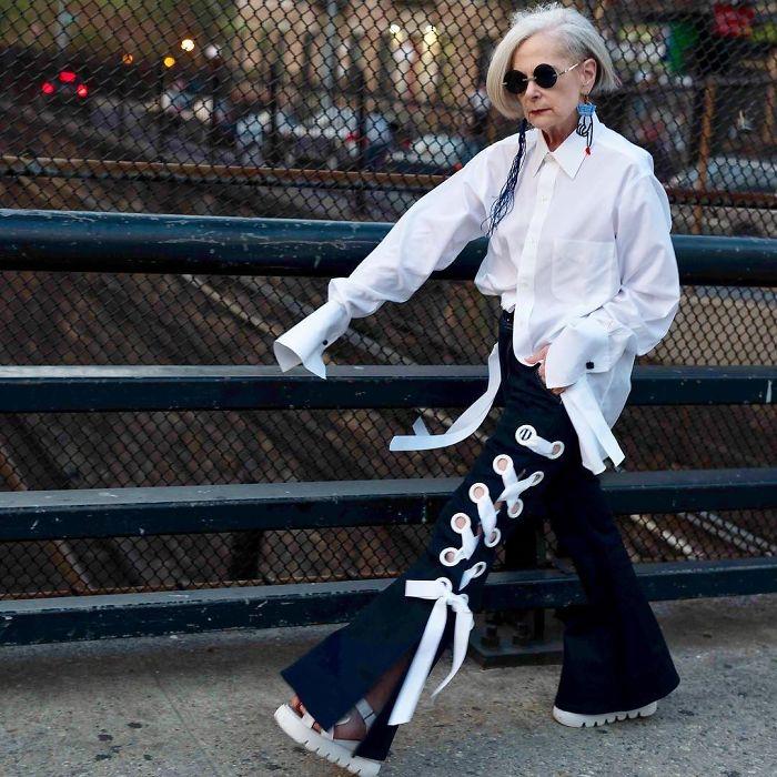 Style chất chơi của cụ giáo 63 tuổi khiến giới trẻ phải chạy dài - Ảnh 10.