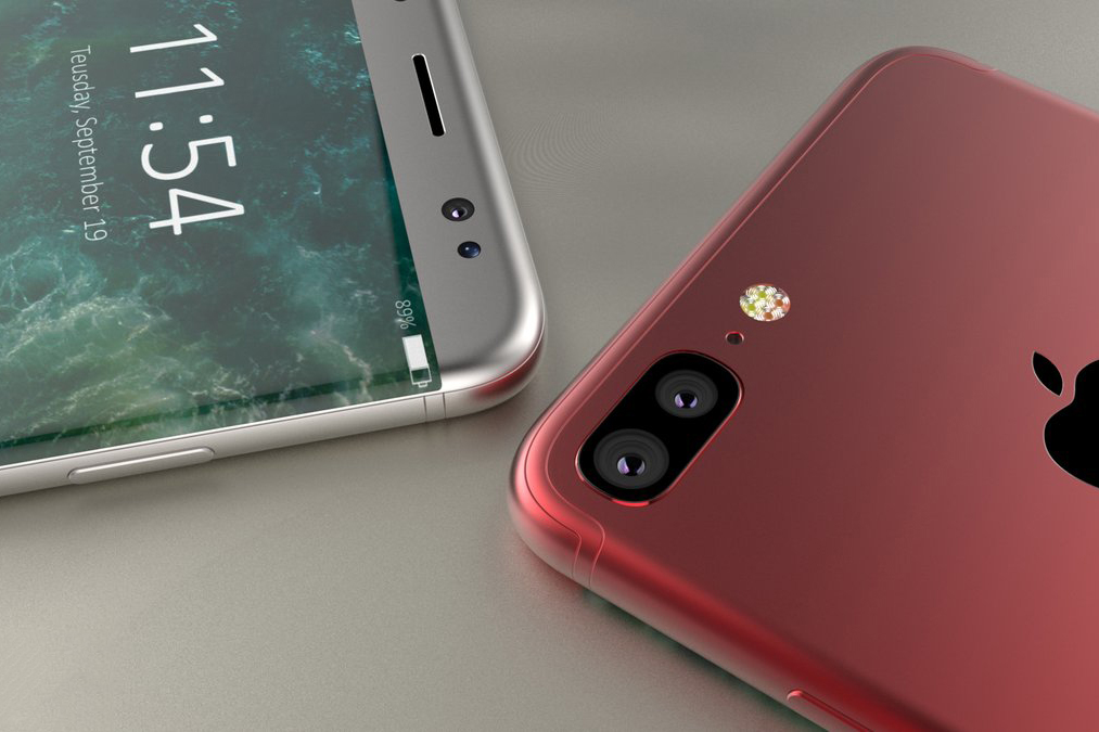 Cận cảnh vẻ đẹp mê mẩn của chiếc iPhone 8 Edge màu đỏ - Ảnh 2.