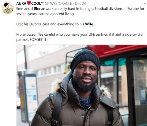 Đừng đưa hết tiền cho vợ! Nếu không hãy hỏi Eboue - Ảnh 6.