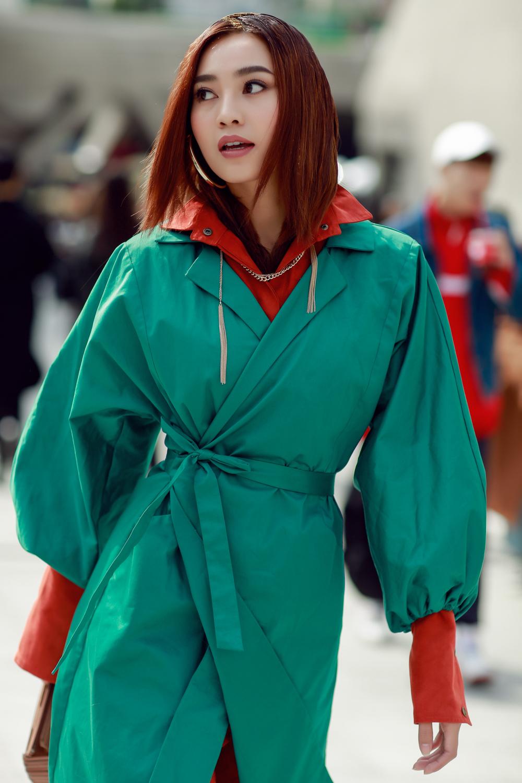 Đơn thương độc mã tại Seoul Fashion Week mùa này, nhưng độ cool của Châu Bùi chẳng hề giảm sút - Ảnh 9.