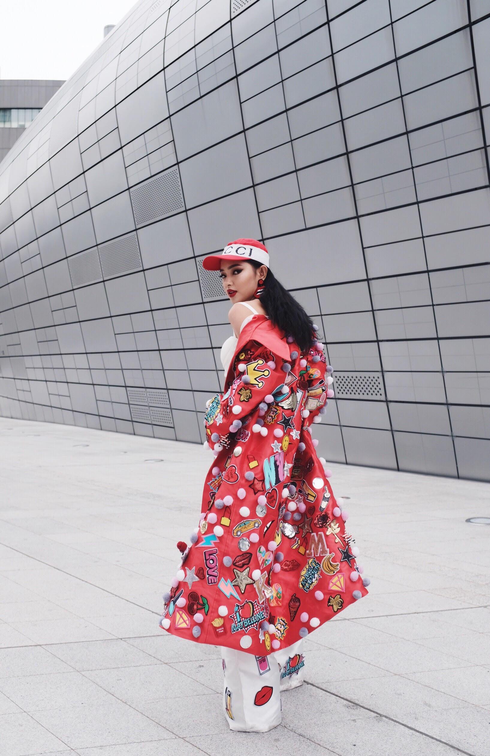 Đơn thương độc mã tại Seoul Fashion Week mùa này, nhưng độ cool của Châu Bùi chẳng hề giảm sút - Ảnh 2.