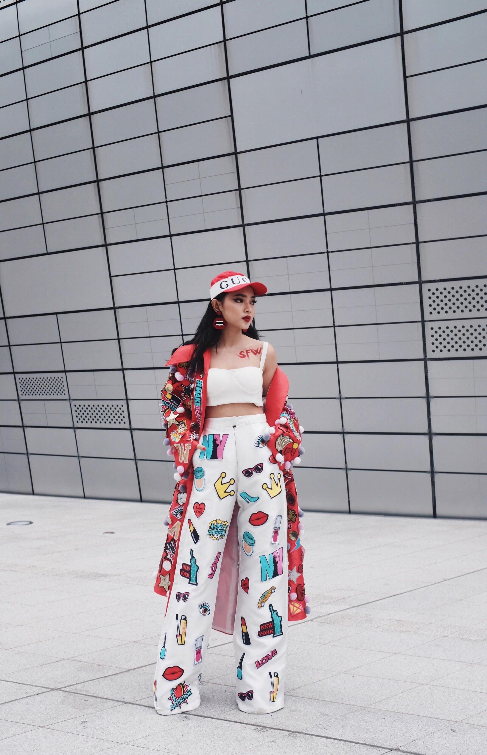 Đơn thương độc mã tại Seoul Fashion Week mùa này, nhưng độ cool của Châu Bùi chẳng hề giảm sút - Ảnh 1.
