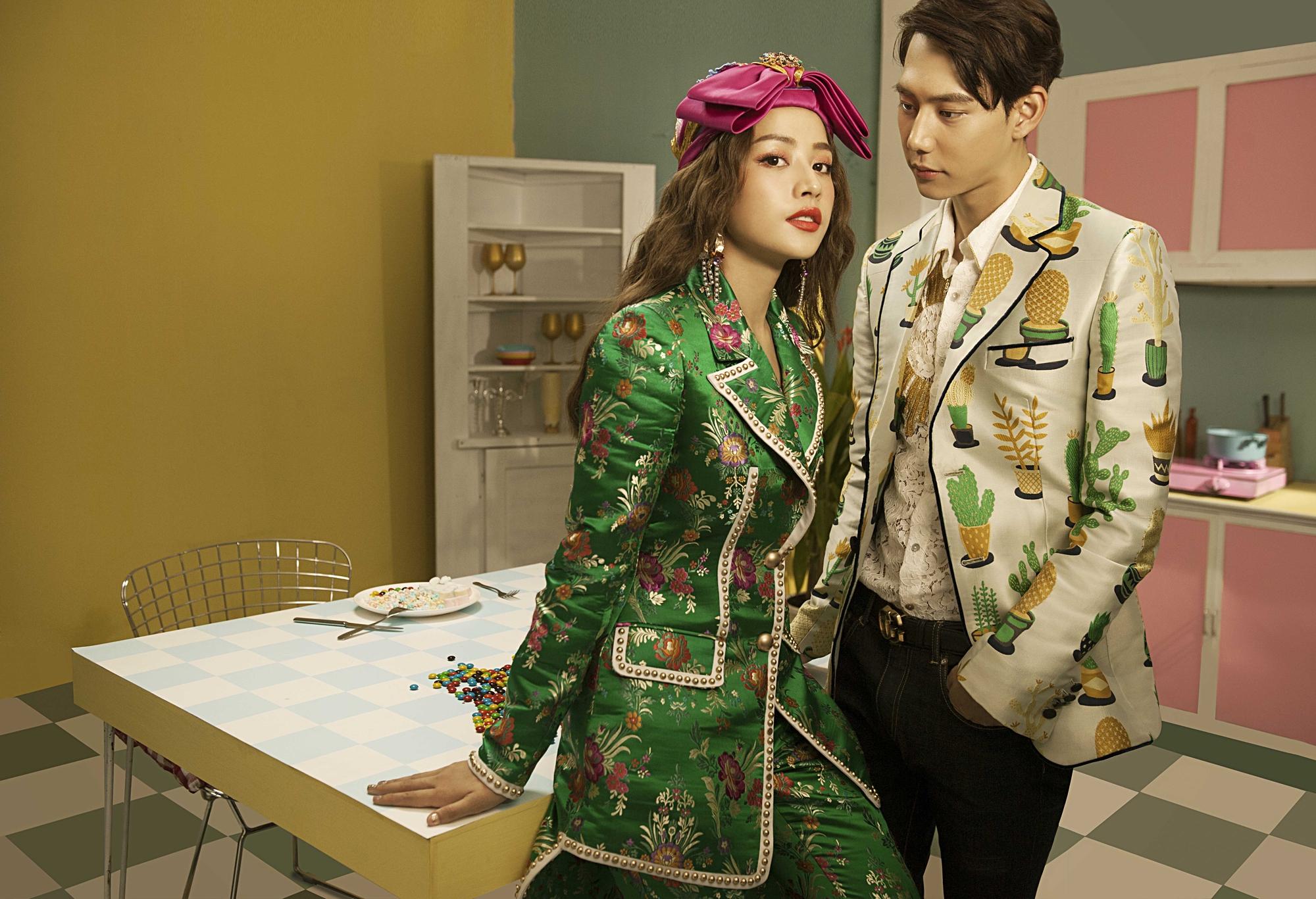 Sau MV chào sân nhiều tranh cãi, Chi Pu phát hành MV debut đậm màu Kpop cùng bạn diễn điển trai xứ Hàn - Ảnh 12.
