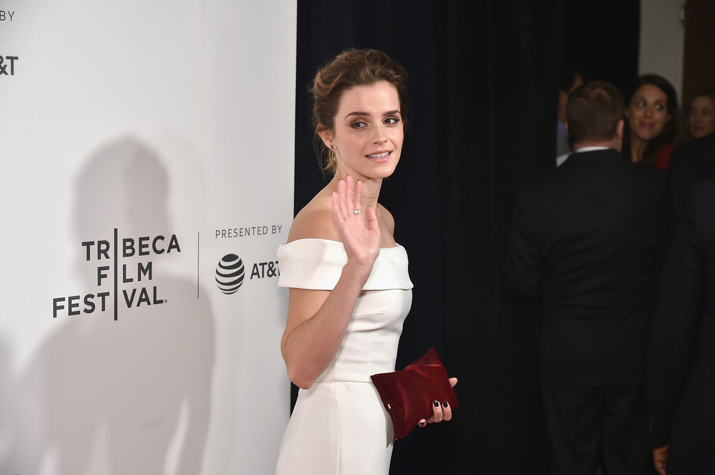 27 tuổi, Emma Watson đã lộ dấu hiệu lão hóa trên thảm đỏ LHP Tribeca - Ảnh 6.