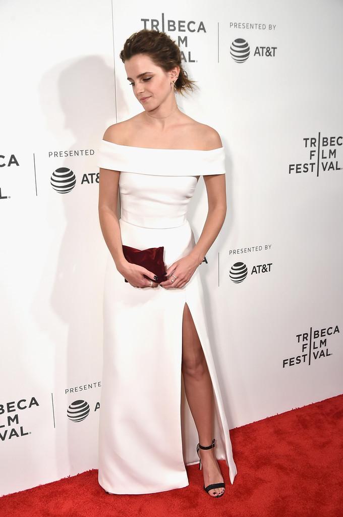 27 tuổi, Emma Watson đã lộ dấu hiệu lão hóa trên thảm đỏ LHP Tribeca - Ảnh 4.