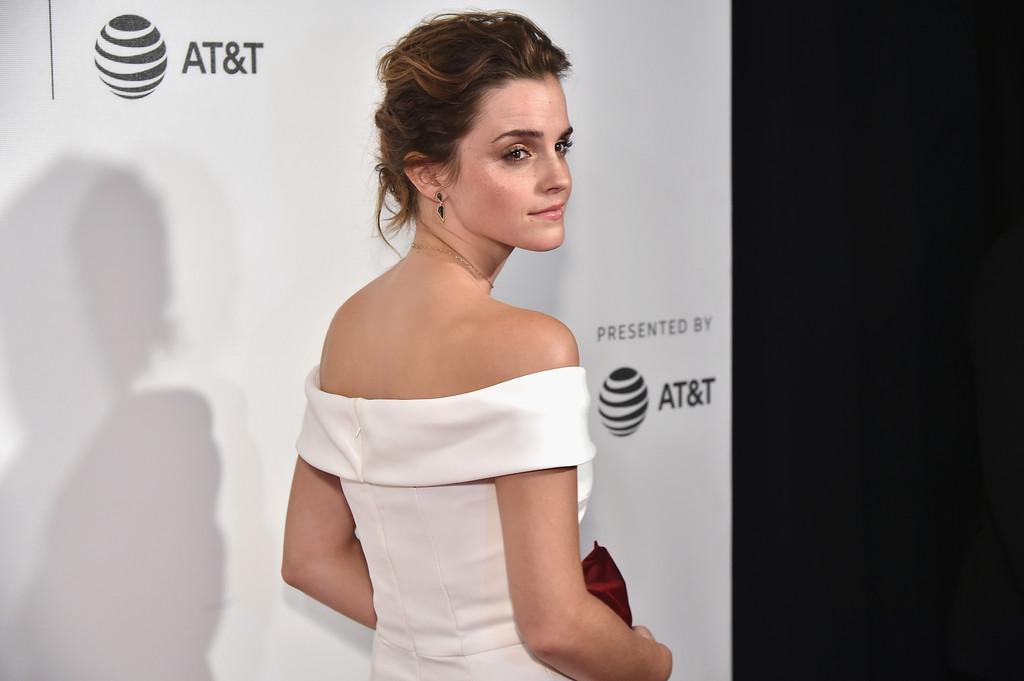 27 tuổi, Emma Watson đã lộ dấu hiệu lão hóa trên thảm đỏ LHP Tribeca - Ảnh 5.