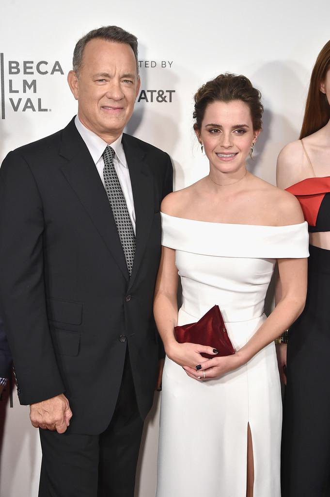 27 tuổi, Emma Watson đã lộ dấu hiệu lão hóa trên thảm đỏ LHP Tribeca - Ảnh 7.