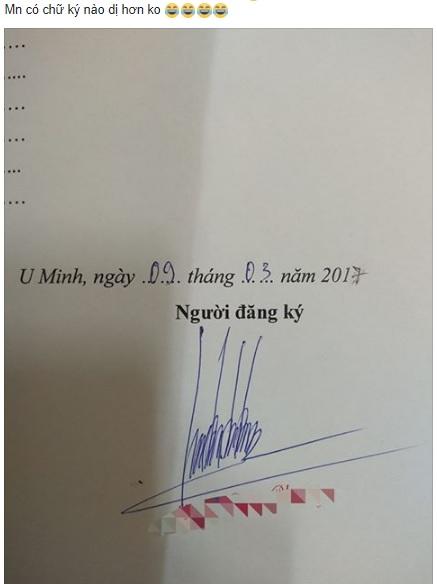 Cư dân mạng liên tục khoe loạt chữ ký độc đáo khiến ai xem cũng chỉ muốn xoắn não - Ảnh 1.