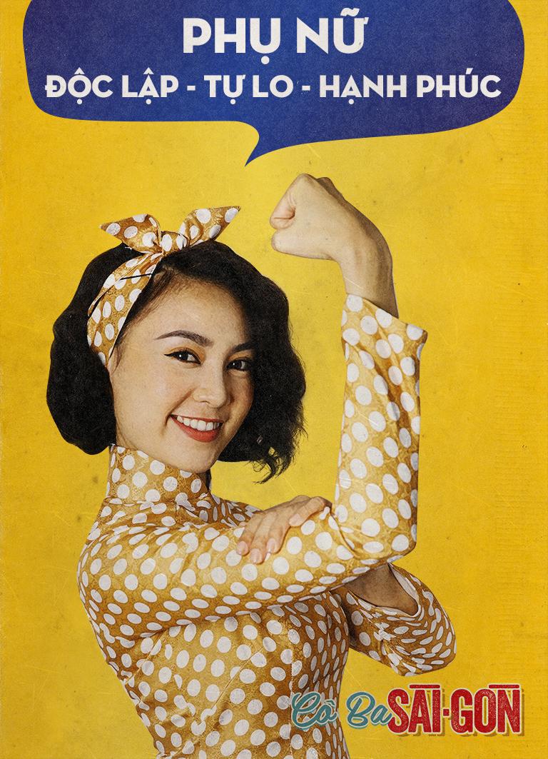 Vừa tung bộ ảnh nữ quyền, Cô Ba Sài Gòn bị chỉ trích là vay mượn văn hóa nửa vời - Ảnh 2.