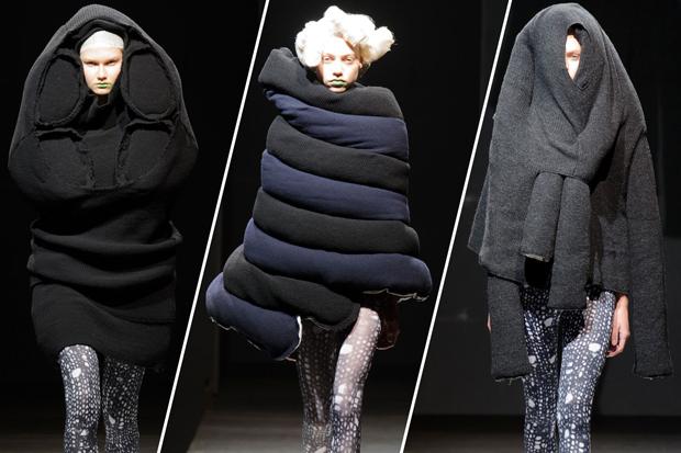 Kỳ lạ: Thiết kế mới nhất của Comme des Garçons giông giống sáng tạo của Đỗ Mạnh Cường - Ảnh 9.