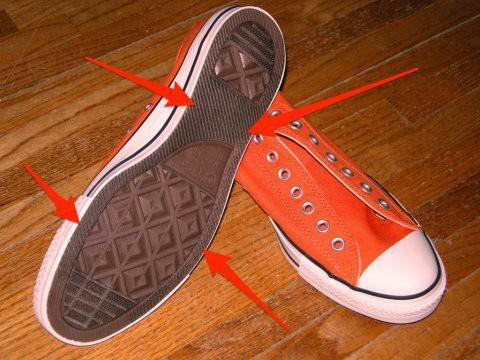 Đế giày Converse có thiết kế rất đặc biệt, nhưng lý do thì chắc chắn bạn không tưởng tượng ra - Ảnh 1.