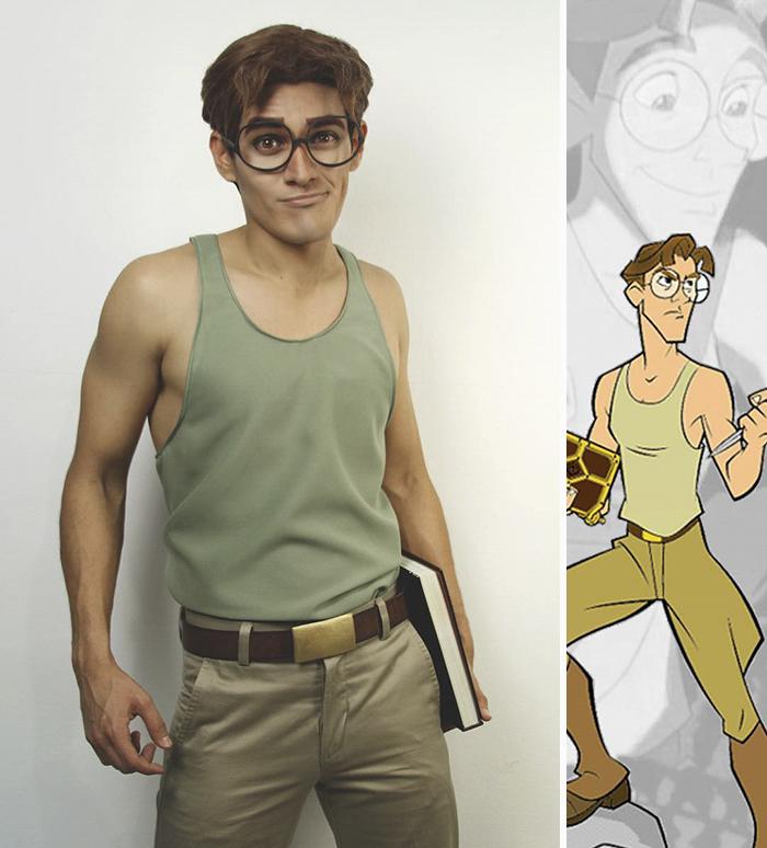 Chàng trai cosplay nhân vật hoạt hình Disney đẹp chẳng kém gì bản gốc - Ảnh 5.